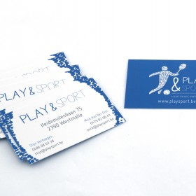 Play&Sport-Visitekaartjes